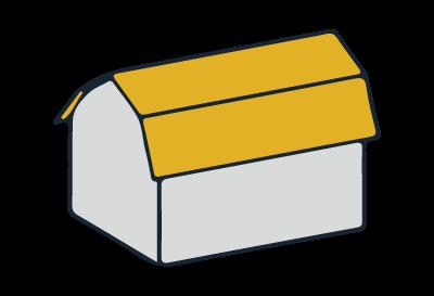 Beispiel Mansardgiebeldach