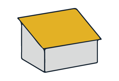 Beispiel Pultdach