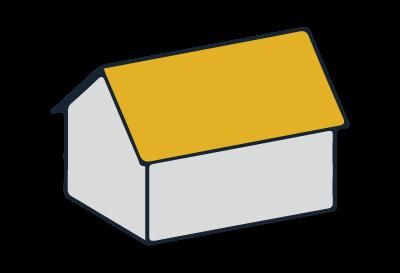 Beispiel Satteldach
