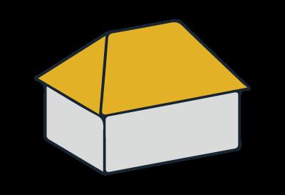 Beispiel Walmdach