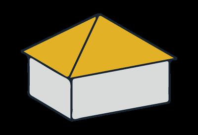 Beispiel Zeltdach