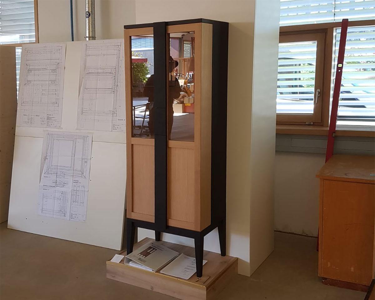 Glasvitrine Schrank Möbel für Haus und Heim