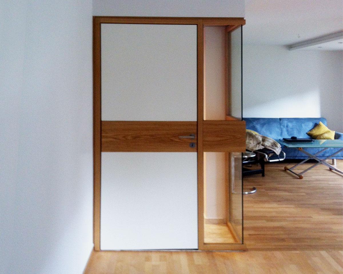 Beispiel Innentür Holz