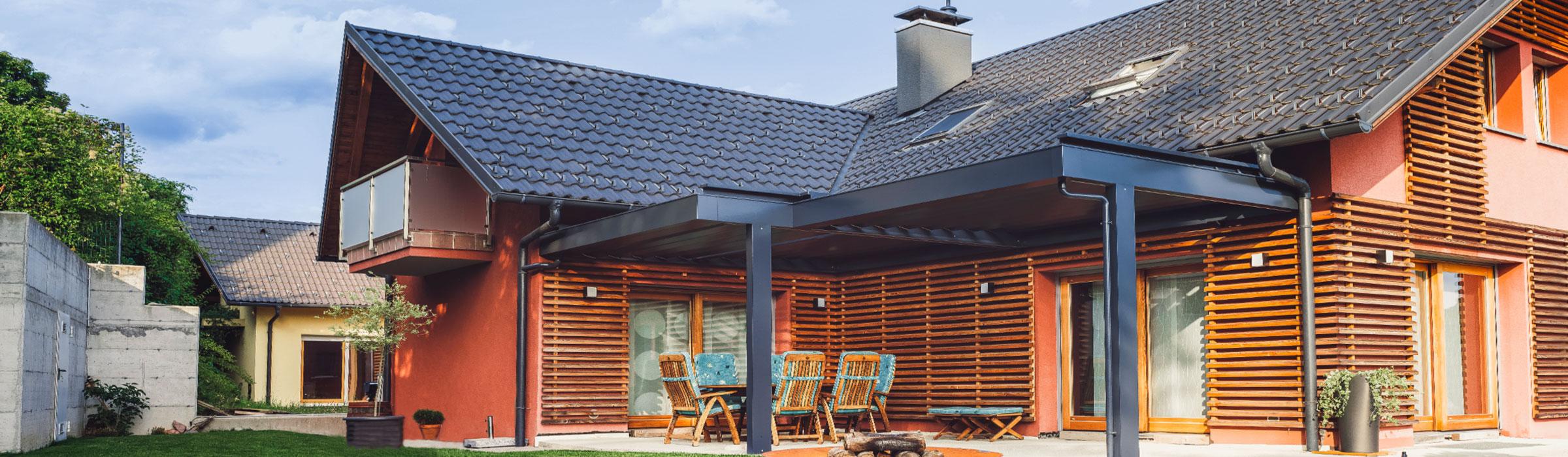 Fassaden, Außenfassade aus Holz