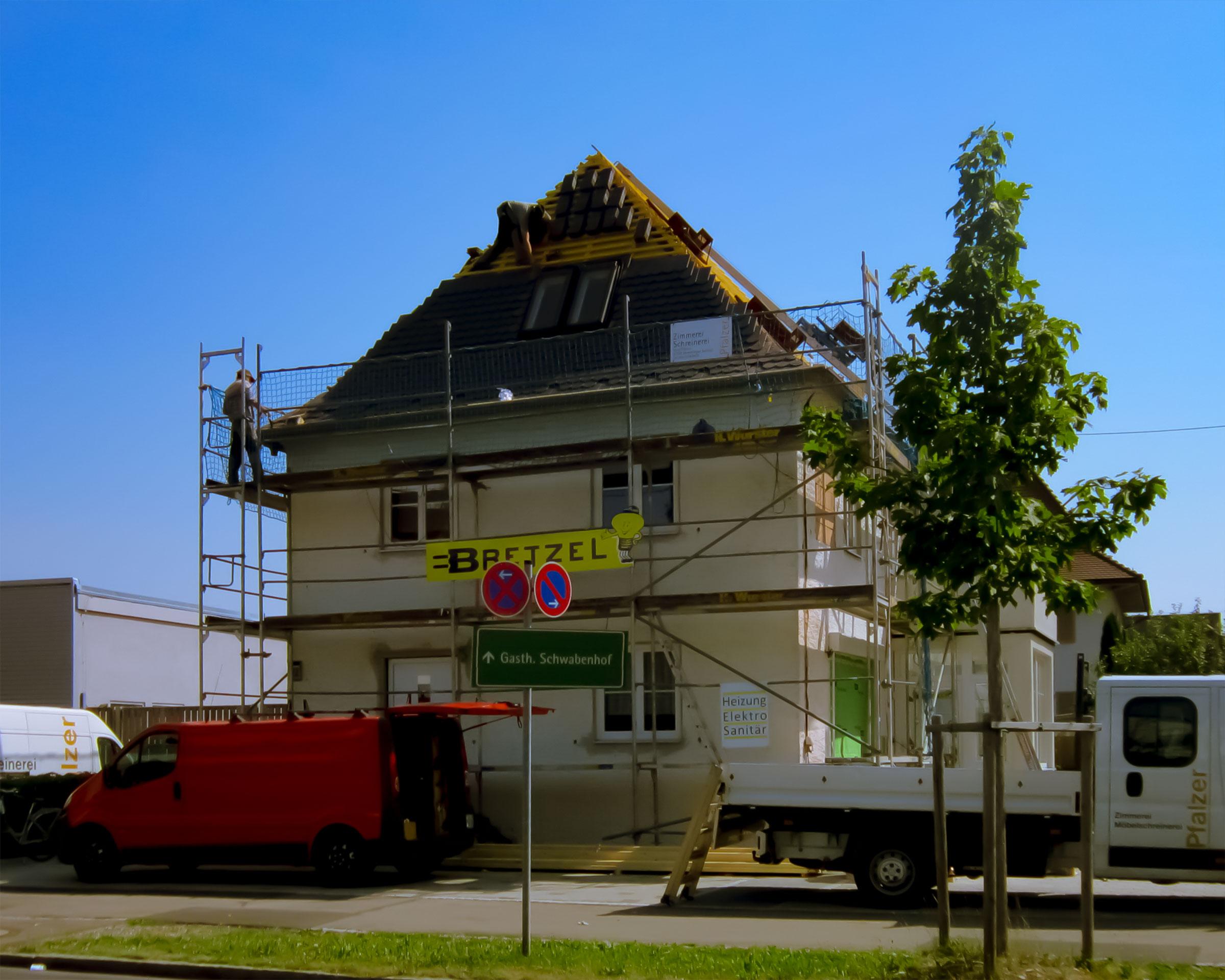 Dachbedeckungen Dachstühle