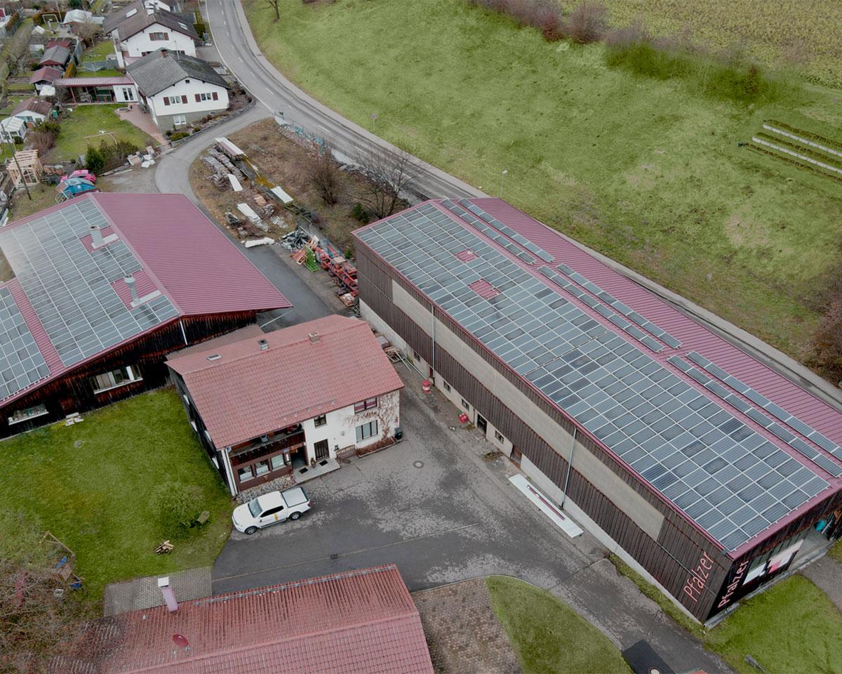 Firmensitz Zimmerei & Schreinerei Pfalzer in Memmingen